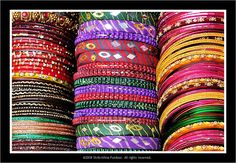 Colors of joy: Bangles of India by Shrikrishna Pundoor #Photography #Bangles #India #Shrikrishna_Pundoor