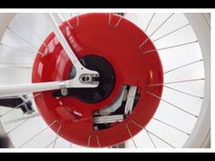 The Copenhagen Wheel turns your bike into a smart electric hybrid by replacing you back wheel; connects to your smartphone