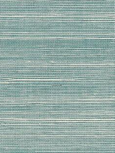DecoratorsBest - Detail1 - PJ 5252 - Bermuda Hemp - Turquoise - Wallpaper - DecoratorsBest