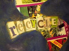 recycl item, recycl craft, glyphs, recycl earth, children, earth day crafts, kids, crafti side, recycled crafts