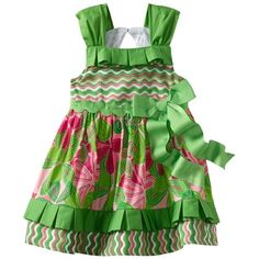 Baby girl clothes#25% Discount#Mud Pie Baby-Girls Newborn Little Sprout Pleated Ruffle Sun Dress, Multi-Colored, 0-6 Months