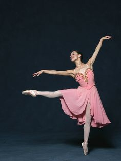 Mary Carmen Catoya in Tschaikovsky Pas De Deux. Choreography by George Balanchine © The George Balanchine Trust. Photo © Joe Gato.