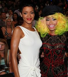 They Came To Win, To Fight, To Conquer! Rihanna And Nicki Minaj Lead AMA Nominations  Read more at http://madamenoire.com/223091/they-came-to-win-to-fight-to-conquer-rihanna-and-nicki-minaj-lead-ama-nominations/#sxEfiMKuPjpydzxa.99  #rihanna #nickiminaj #ama #americanmusicawards
