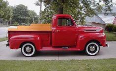 1950 ford f1 v8