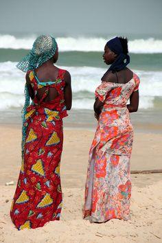 Fisherwomen Of Senegal (by Alan1954)