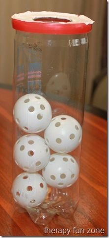Ball Push-ins - Pinned by @PediaStaff – Please Visit  ht.ly/63sNt for all our pediatric therapy pins