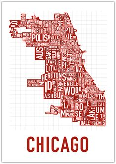 mt greenwood + chicago, chitown, poster, map