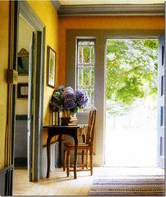 sweedish country interiors