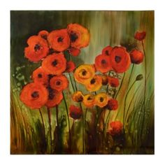 Poppy Field Canvas Art Print | Kirkland's