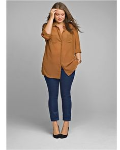 Plus size model Tara Lynn, love her outfit.