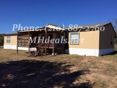 (210)-887-2760 http://mhdeals.net/gallery/bank-repo-homes-with-land-for-sale/Brady-TX-2009SEM42-V A immaculate 4 bedroom 2 bathroom double wide home on .48 acres of land for cheap. 2,432 square feet (32 x 76), give this home many amazing features. To start off this home is in a great location just minutes from town. It is a great starter or first time buyer home with many accommodations. A New deck. On the interior there is many luxuries... More info on MHDeals.net LIC 36155 #bradytexas #home