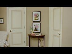 How to Paint Faux Door Panels