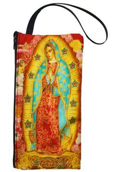 La Virgen de Guadalupe~ Virgen de Guadalupe pouch