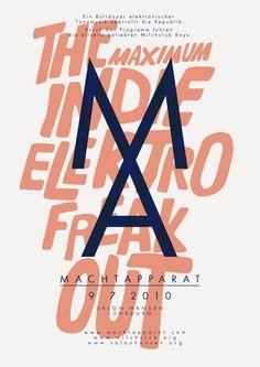#poster #print #design #typography