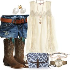 """If You Can Be My Tan-Legged Juliet"" by ej914 on Polyvore"