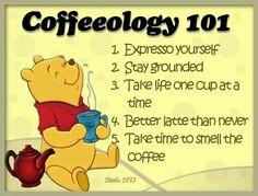 Coffeeology 101 ❤☕⭐