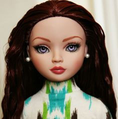 OOAK New Tonner Ellowyne Wilde Delicate Balance with lilac eyes by enchanted