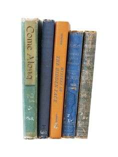Vintage Books by That Girl Studio for Minted
