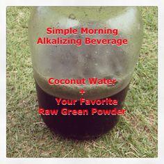 Cooling and Alkalizing Summer Beverage
