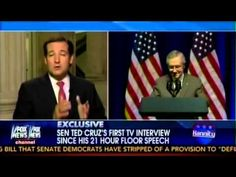 Sen. Ted Cruz joins Sean Hannity to Discuss Defunding Obamacare