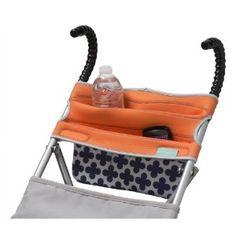 Infantino Stretch Umbrella Stroller Storage Blue/White