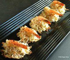 Coconut Shrimp Appetizer food