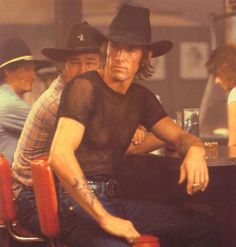 "Wes Hightower in ""Urban Cowboy"": 'memba him?!? (Click the pic to see how he looks now.)"