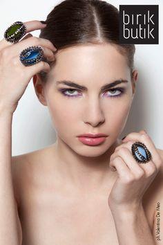 ph.Valentina De Meo, rings by Vittorio Ceccoli on birikbutik.com
