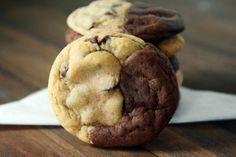 Brookies+{Brownie+++Chocolate+Chip+Cookies}
