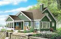 Chalet idéal pour bord de lac : pergola, bain tourbillon en moustiquaire, 3 chambres, garage double http://buff.ly/1n3lmFD