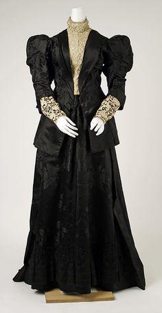 Silk Ensemble #1892 #1893 #1890s #France