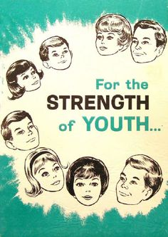 1965 For the Strength of Youth cover mormon, church stuff, strength, young women, shorts, youth