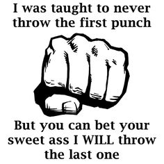 The last punch!