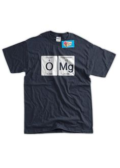 STEM tees for kids: O Mg tee by IceCreamTees funni scienc, oxygen magnesium, funni tshirt, tee shirt, funny science, t shirts, music joke, tshirt oxygen, scienc tshirt