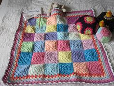 Granny Dolls blanket