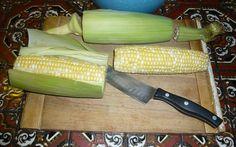 Fast Way To Shuck Corn