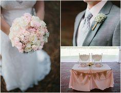 Blush Tone Rustic Wedding