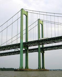 Delaware Memorial Bridges over the Delaware River,