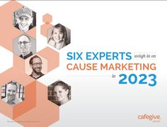 What does the future of #causemarketing look like, and where do social media and tactics like #FacebookContests fit in?  Six experts, including @Joseph Cohen Waters , weigh in on Cause Marketing 2023. #FWB40 contest fundrais, joe water, market stat, facebook contest, market tool