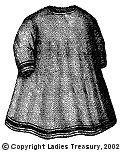 Free Pattern:  1869 Child's Apron