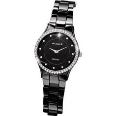 Sleek and sexy, the Black Ceramic Accurist Watch from Argos is a guaranteed Christmas favourite.