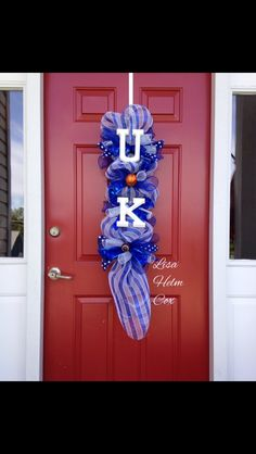 U of K Door Swag, Big Blue, wildcats, University of Kentucky