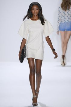 chic as can be Rebecca Minkoff #NYFW