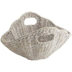 The beautiful texture of our Shell Basket makes it perfect for summer decor