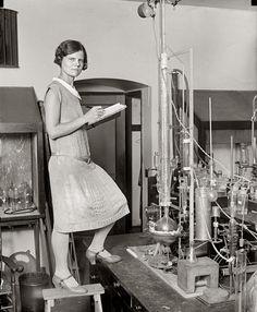 """Woman Scientist,"" 1923"