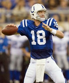 Indianapolis Colts #18 no more- Peyton Manning will play for Denver.