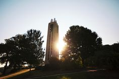 KU Campanile (other side of Potter's Lake), 2011.