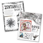 Zentangle Basics, Zentangle 2 and Zentangle 3 by Suzanne McNeill  Suzanne is the owner of publishing company – Design Originals, where you can find many excellent design and art books. Or check out her blog for more zentangle designs shared.