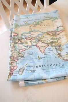 map fabric!