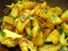 Indian Cauliflower / Aloo Gobi